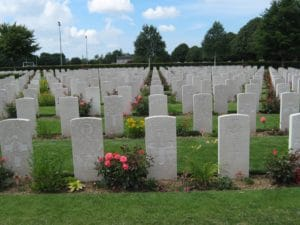 Normandy Gite Holidays - Bayeux war cemetery