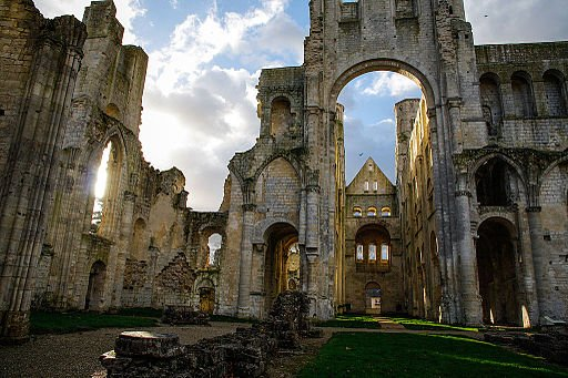 Jumieges Abbey, Normandy
