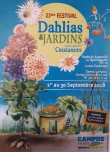 Coutances dahlia festival