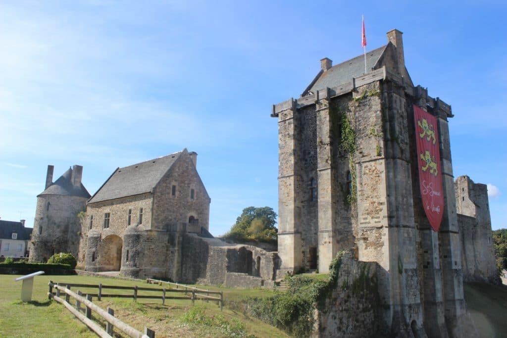 Abbey St Sauveur Le Vicomte