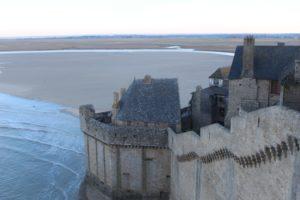 Mont-Saint-Michel ramparts