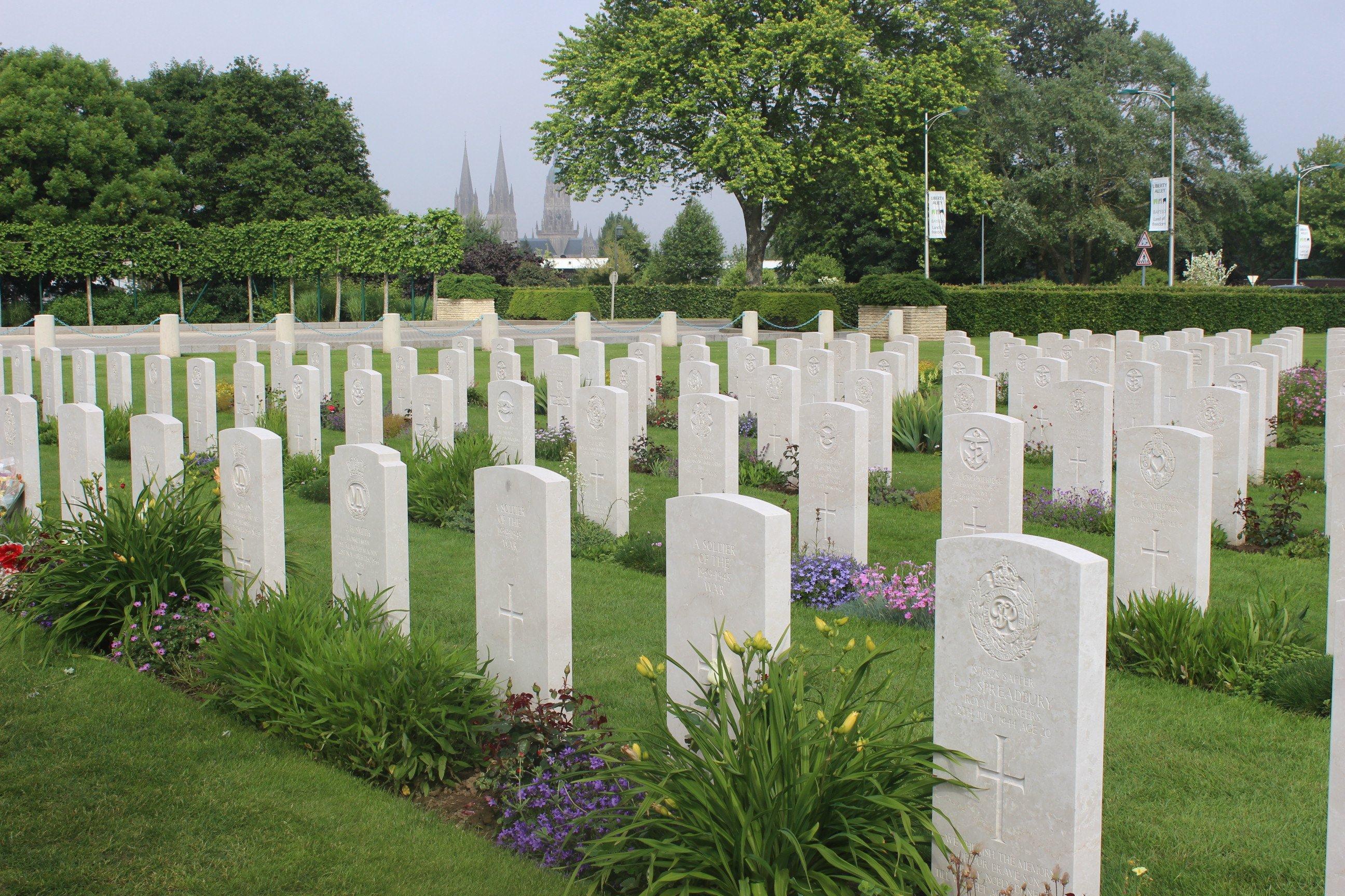Bayeux War Memorial and Cemetery