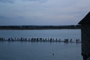 Mont-Saint-Michel high tides