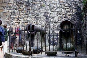Canons at Mont-Saint-Michel