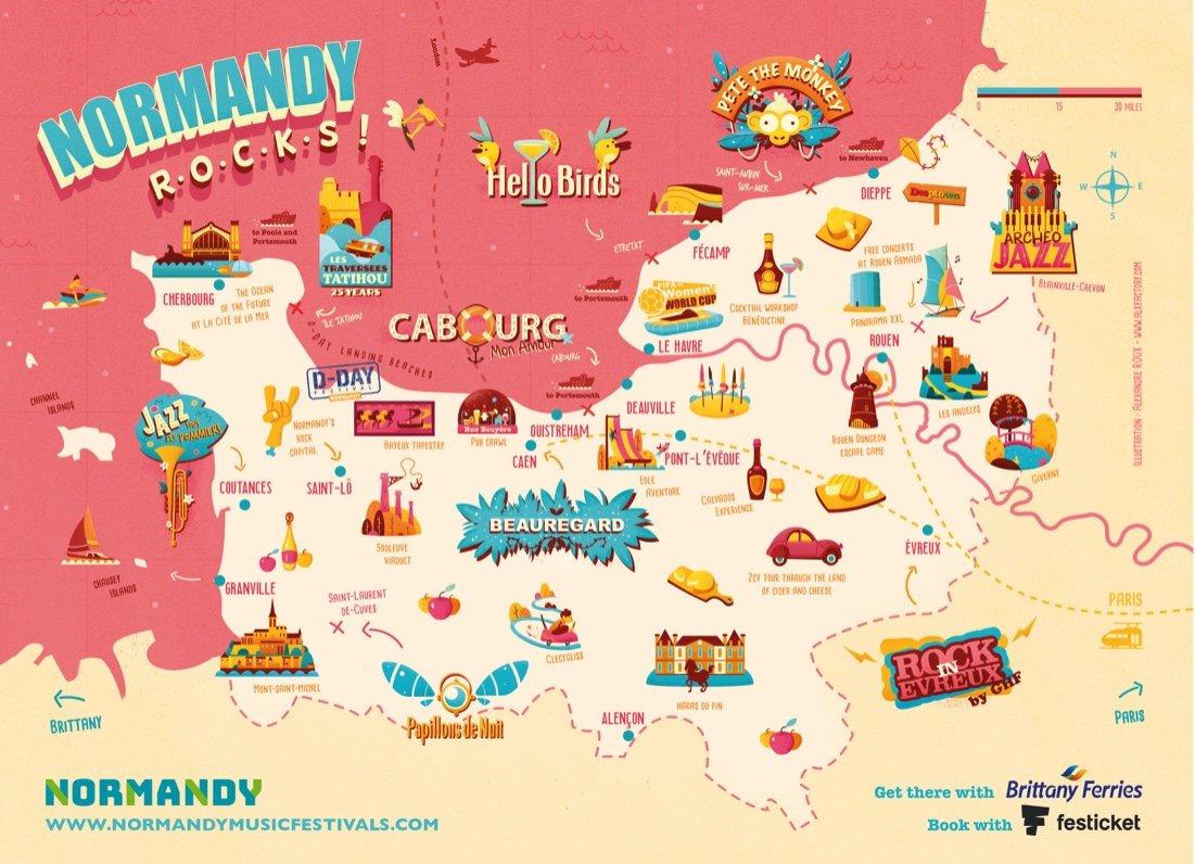 Normandy music festival