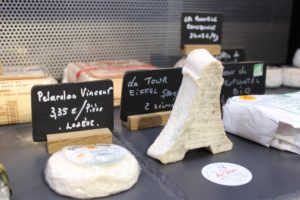 Buying cheese in Granville