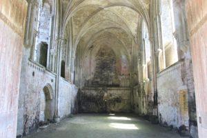 abbey church at Longues sur Mer