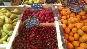 French cherries