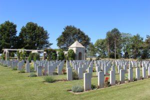 Ryes war cemetery
