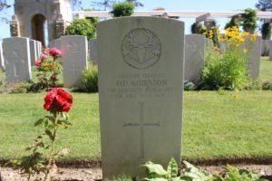 Normandy cemetery