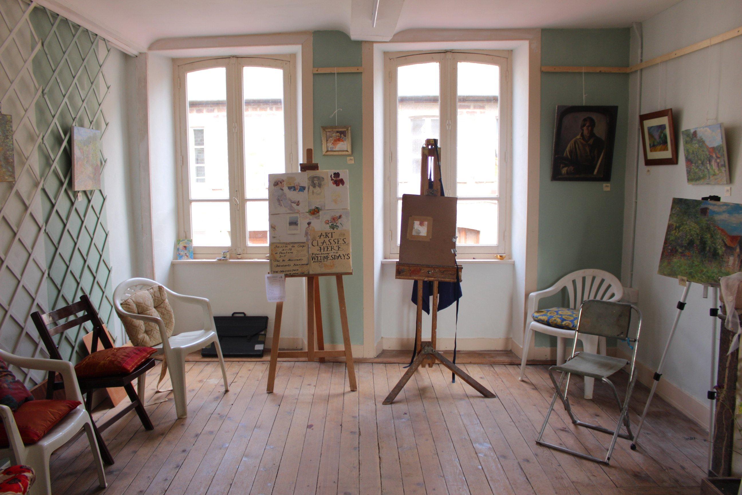art gallery in Gavray
