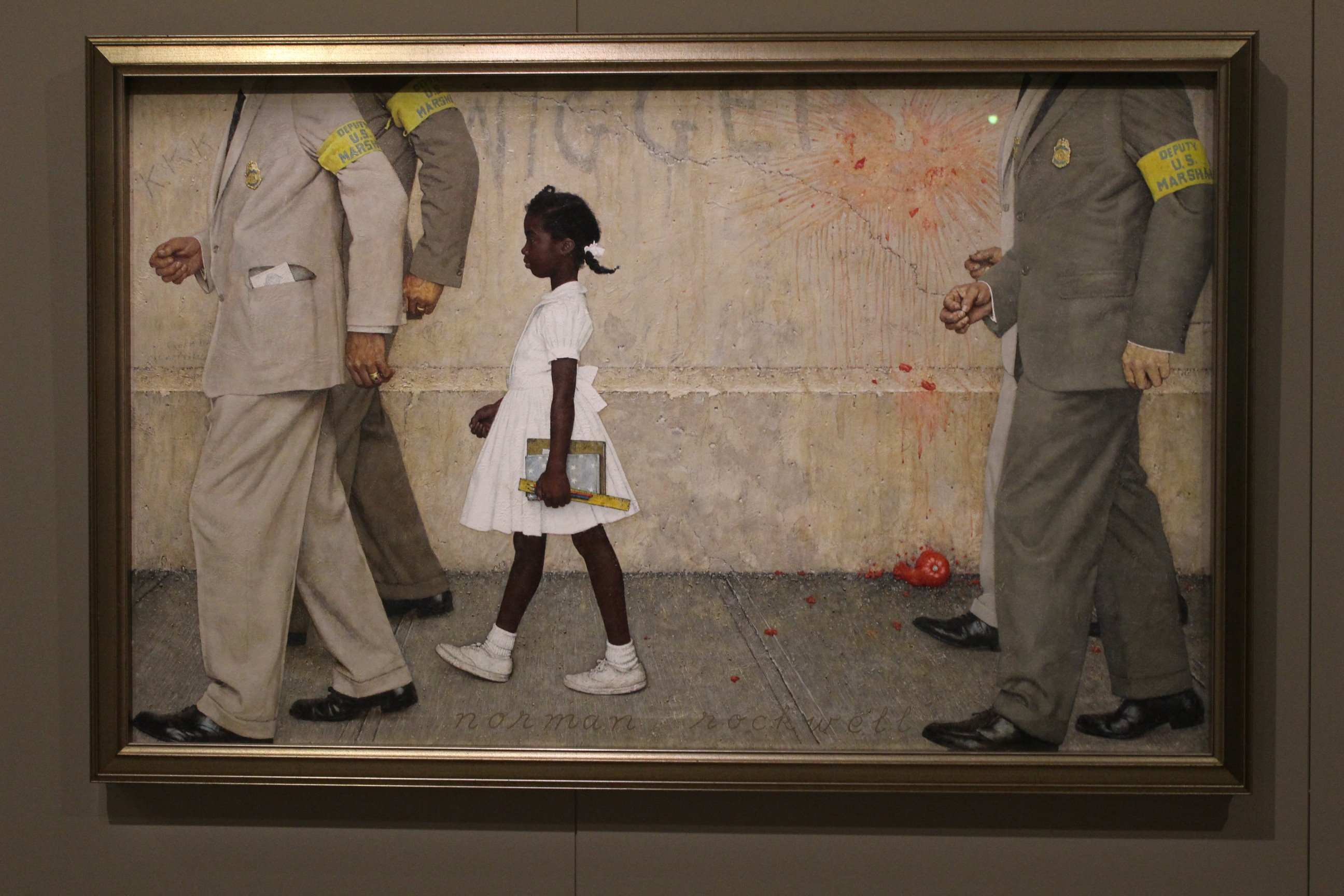Rockwell's The Problem We All Live With