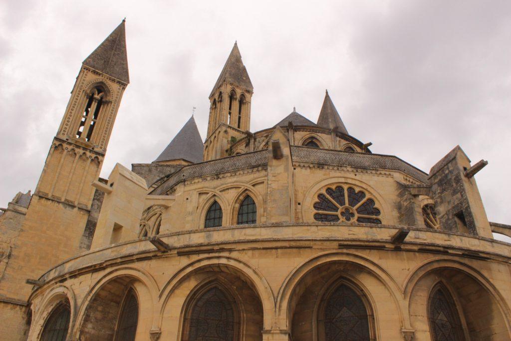 abbey church in Caen