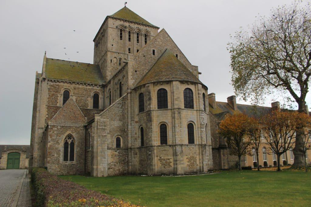 Lessay abbey church